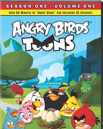 Angry Birds Toons Season 1 Volume 1 Dvd Database Fandom