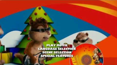 Alvin and the Chipmunks DVD Main Menu (Full-screen side, Short)