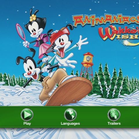 Animaniacs: Wakko's Wish | DVD Database | Fandom |Animaniacs Dvd Menu