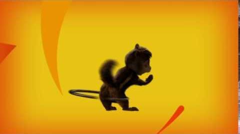 Alvin and the Chipmunks DVD Play Menu (Alvin Hula Hoop)