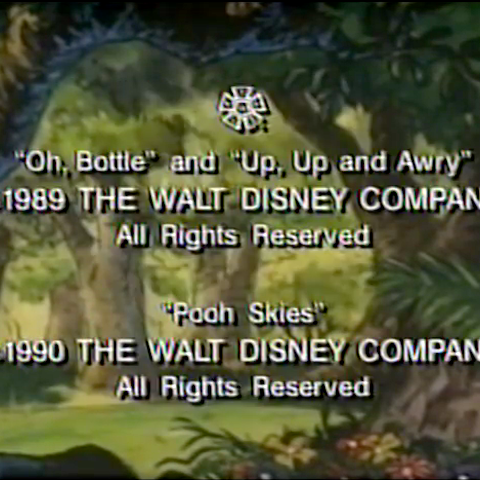 Winnie the Pooh: Imagine that Christopher Robin closing credits