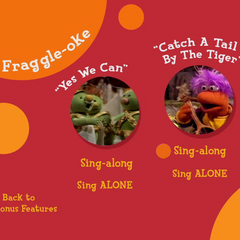 Fraggle Rock Music Video Menu (a.k.a Fraggle-Oke)
