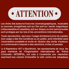 Spanish FBI Warning screen