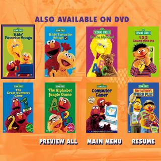 General Sesame Street Home Video Trailers