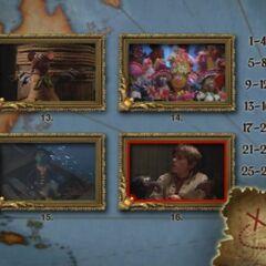 Scene Selection menu