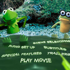 Kermit's Swamp Years - Main Menu Screenshot