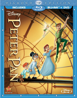 Peter Pan Blu ray Combo Pack