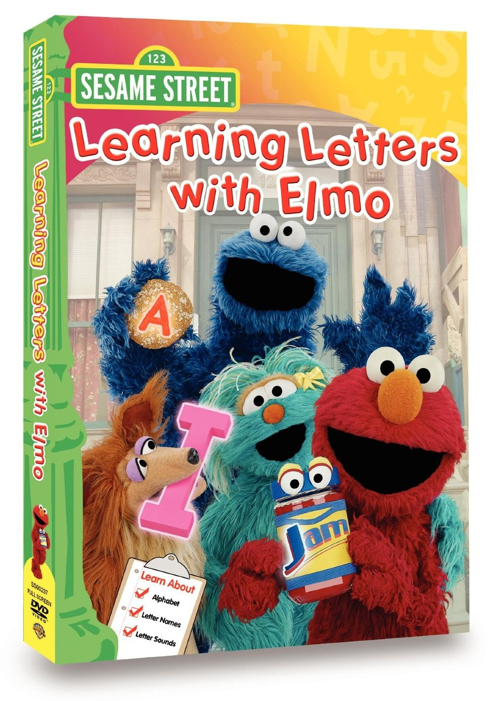 Learning Letters with Elmo DVD Database