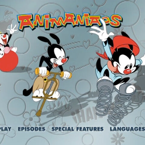 Steven Spielberg Presents Animaniacs Vol 1 Disc 4 DVD Menu ... |Animaniacs Dvd Menu