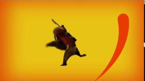 Alvin and the Chipmunks DVD Play Menu (Alvin Rock Guitar)