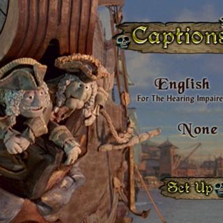 Captions menu (unused)