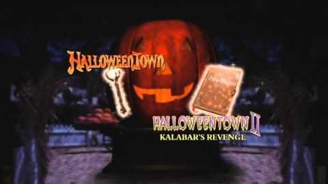 Halloweentown Double Feature DVD Menu intro