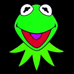 Jim Henson Productions (1989) Kermit Head (Widescreen)
