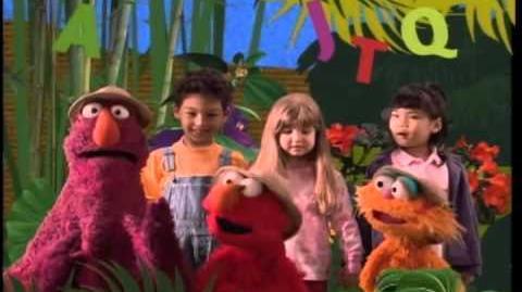 Sesame Street - The Alphabet Jungle Game DVD Preview