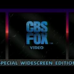 CBS FOX Video (1984) 16x9 (Special Widescreen Edition)