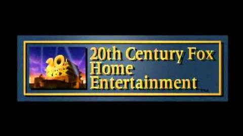 20th Century FOX Home Entertainment (1995-2009) 60p variant (fade in) 2