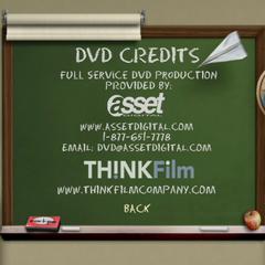 DVD Credits Menu