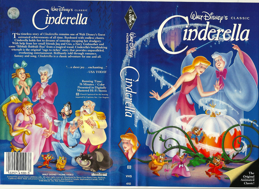 Cinderella 1950 Movie Dvd Database Fandom Powered By