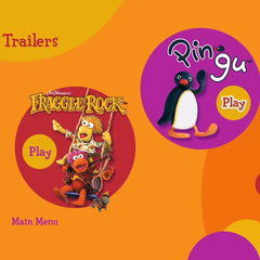 Theatrical Trailers Menu