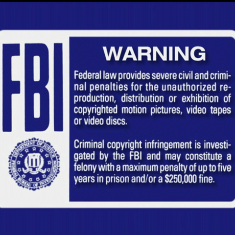 FBI Warning 1