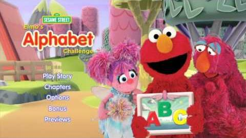 Elmo's Alphabet Challenge - Main Menu