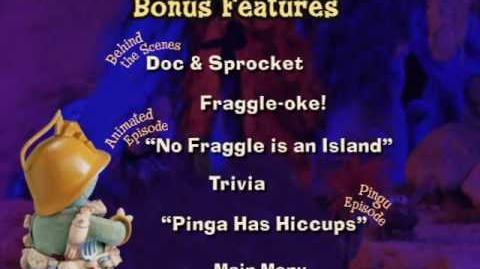 Fraggle Rock Dance Your Cares Away Bonus Features Menu