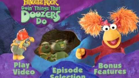 Fraggle Rock Doin Things That Doozer's Do VSTM Menus