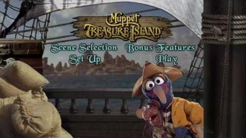 Muppet Treasure Island (2002) Main Menu 2 (Region 1)