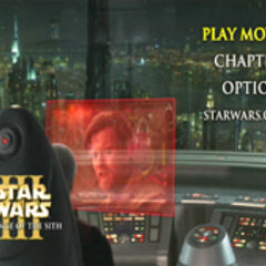 Star Wars: Revenge of the Sith - Coruscant Main Menu Screenshot