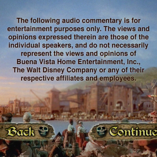 Audio Commentary menu B