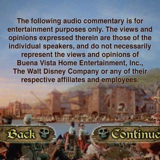 Audio Commentary menu B