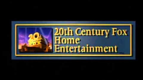 20th Century FOX Home Entertainment (1995-2009) 60p variant (Fade in and cut to black)