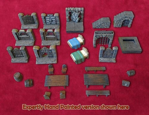DDPP Dungeon Dressing Pack Pieces