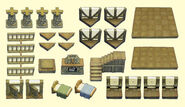 Resin Medieval Building Expansion Set