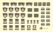 Resin Catacombs Set