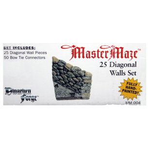 MM-004 Box Label Diagonal Walls