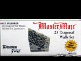 MM-004 25 Diagonal Walls Set