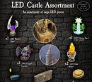 4-LEDC LED Castle Assortment