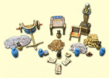 Resin Realm of the Ancients Treasure Set