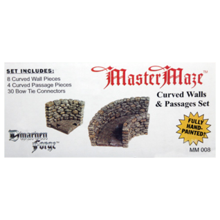 MM-008 Box Label Curved Walls and Passages