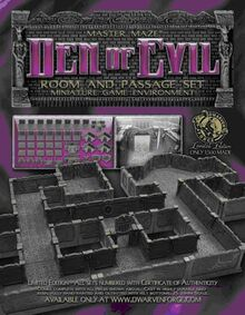 MM-023 Box Den of Evil Room and Passage Set
