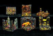 GT5-LC-P Pieces Lava Cavern Pack