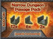 DDSP Narrow Dungeon Passage Pack