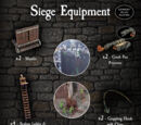 4-SIEE Siege Equipment