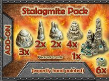 GT5-SP-P Add-on Stalagmite pack