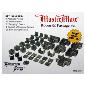 MM-002 Box Label Room and Passage