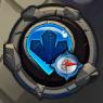 Blue crystal compass