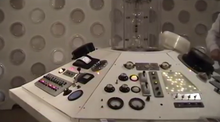 The Projection Room Tardis Console Set