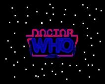 Doctor Who The Sixth Doctor Comedic Adventures logo