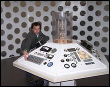 The Doctor and his current console room